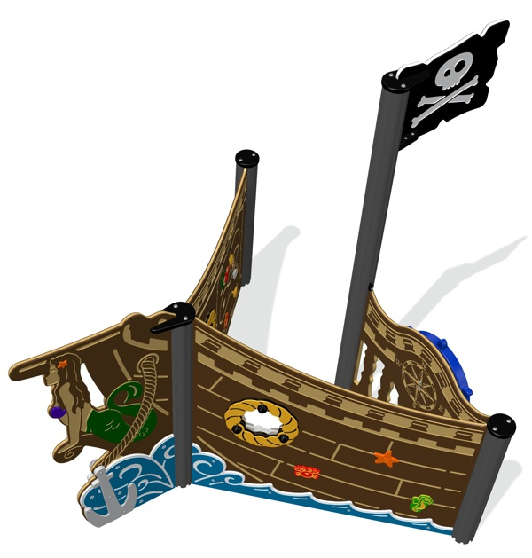 Shiver-me-Timbers Pirate Bow
