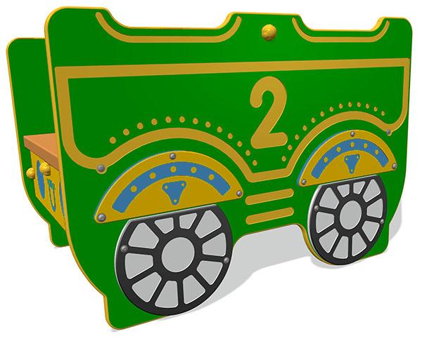 Steam Express Train Carriage 2