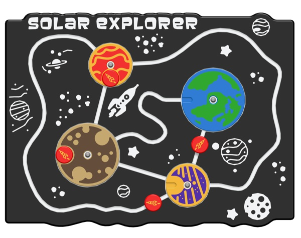 Solar Explorer Play Panel