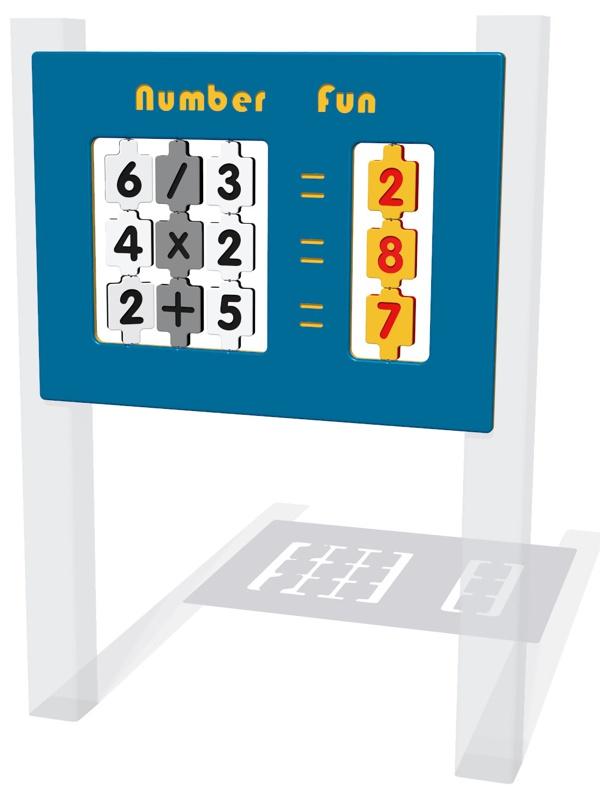 Number Fun NGP Play Panel