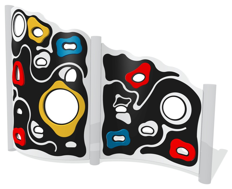 Curved Extreme Climbing Wall