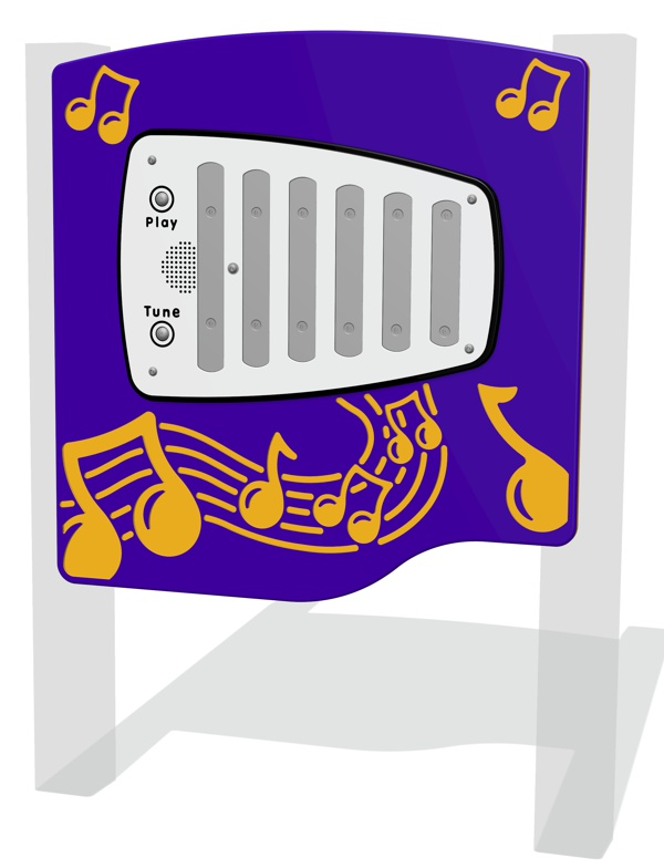 PlayTronic Chimes Musical Panel with Tunes