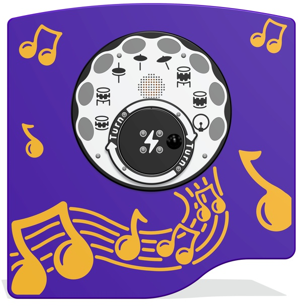 RotoGen Drums Musical Panel