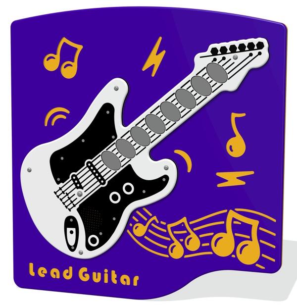 PlayTronic Lead Guitar Musical Panel