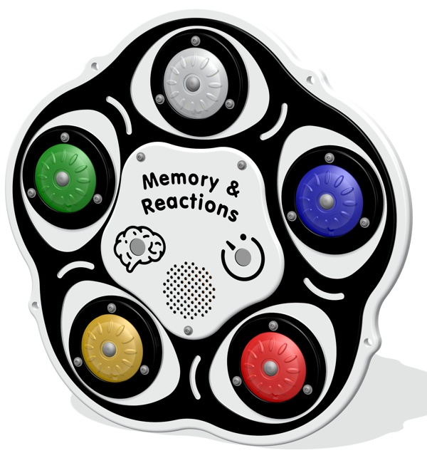 PlayTronic Memory and Reactions Game Insert