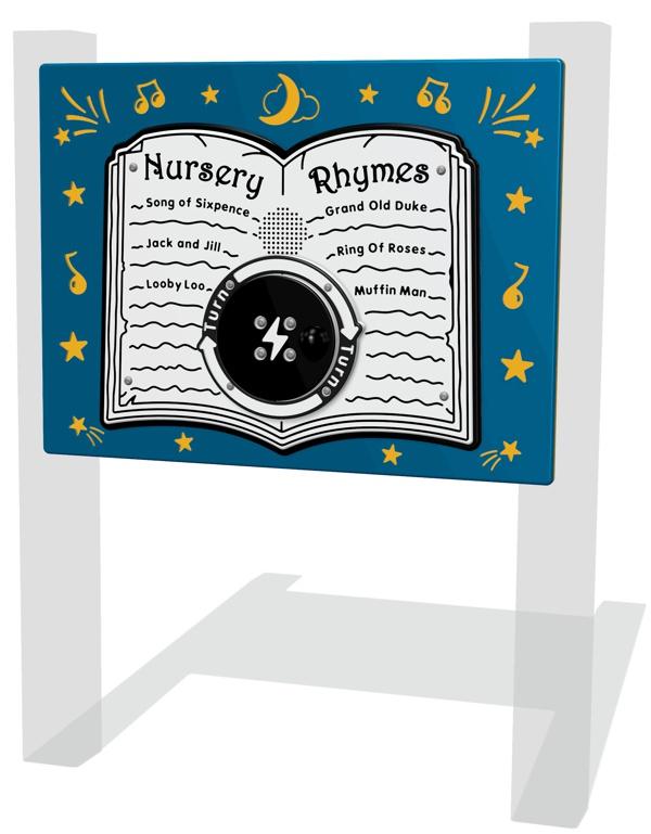 RotoGen Nursery Rhymes Play Panel