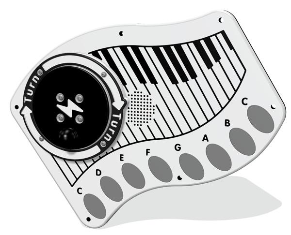 RotoGen Piano Musical Insert