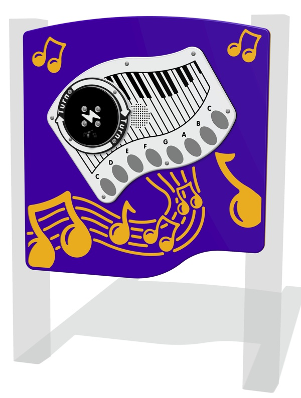 RotoGen Piano Musical Panel