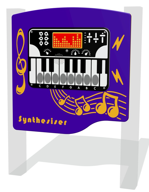 PlayTronic Synthesiser Musical Panel