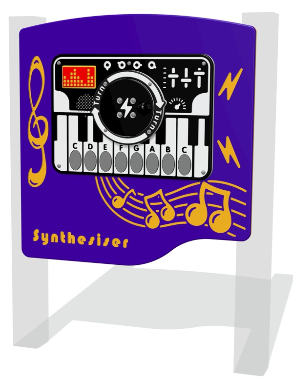 RotoGen Synthesiser Musical Panel