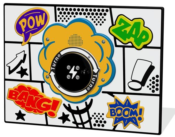 RotoGen Cartoon Sounds Panel