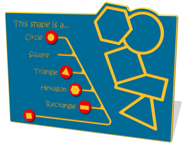 This shape is a... NGP Play Panel