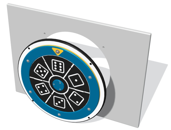 Spin Dice Panel Insert