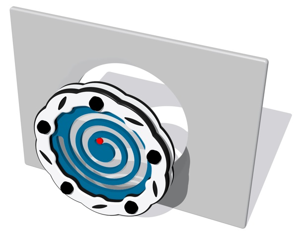 Spiral Shifter Panel Insert