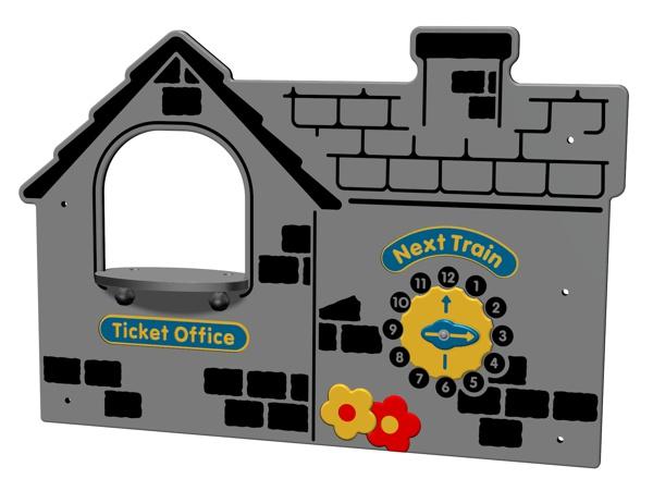 Train Ticket Office Panel