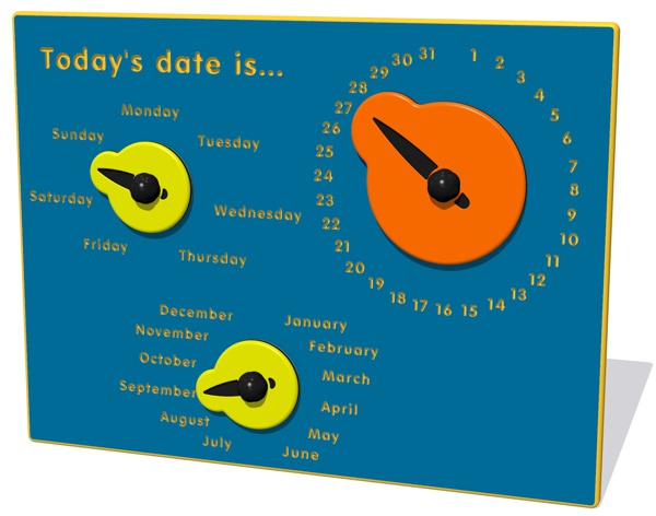 Today's date is...Play Panel