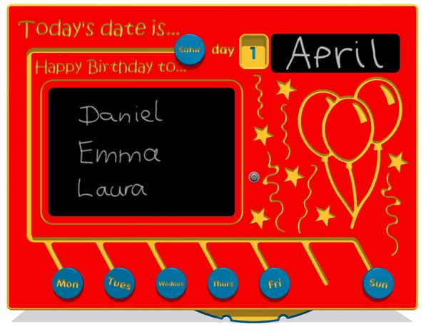 Today's date is... NGP Play Panel