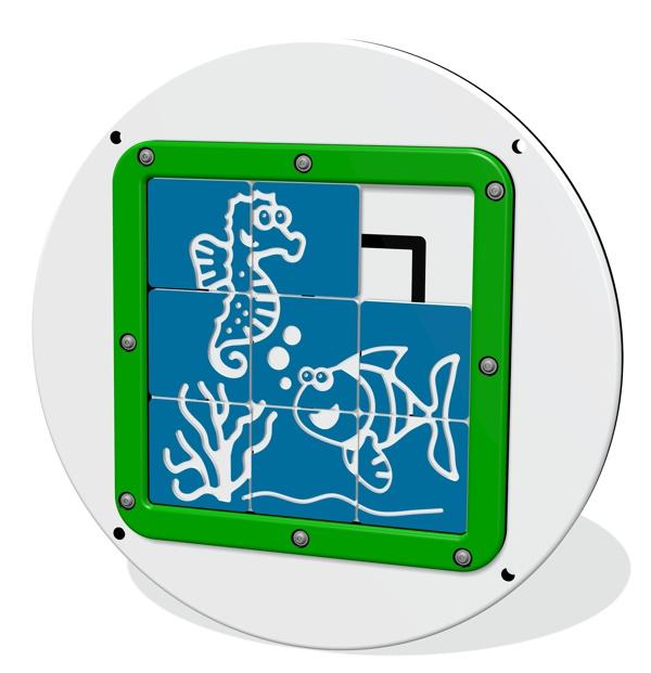 Tile Slide Fish Panel Insert