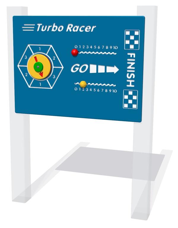 Turbo Racer Play Panel