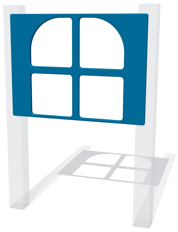 Window Cut Out Play Panel