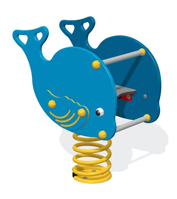 Whale Spring Rocker