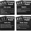 Fitness Point - Exercise Station Panels