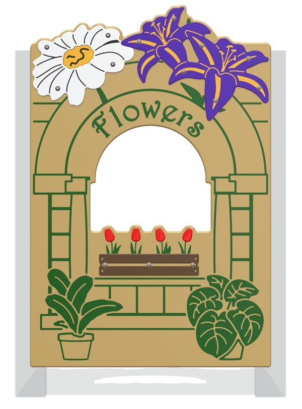 Flower Shop Play Panel