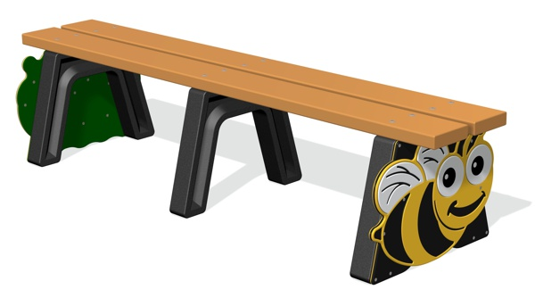 Mini Beast Backless Bench
