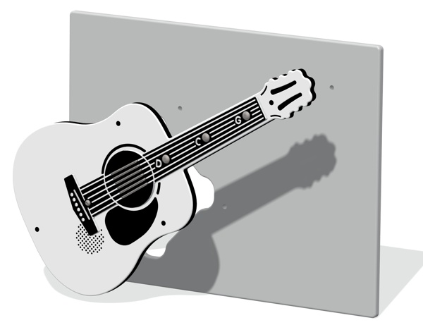 PlayTronic Acoustic Guitar Musical Insert