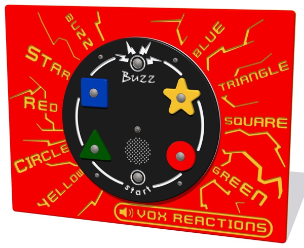 PlayTronic Buzz Reactions Game Panel