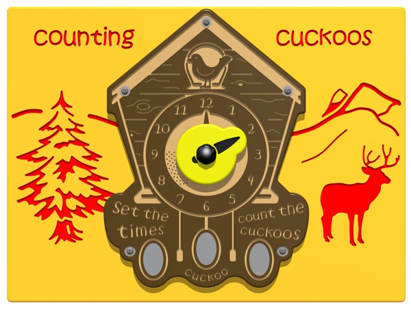 PlayTronic Counting Cuckoos Play Panel