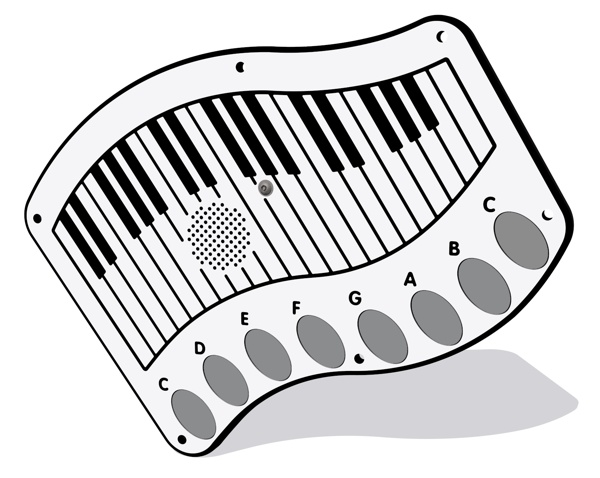 PlayTronic Piano Musical Insert