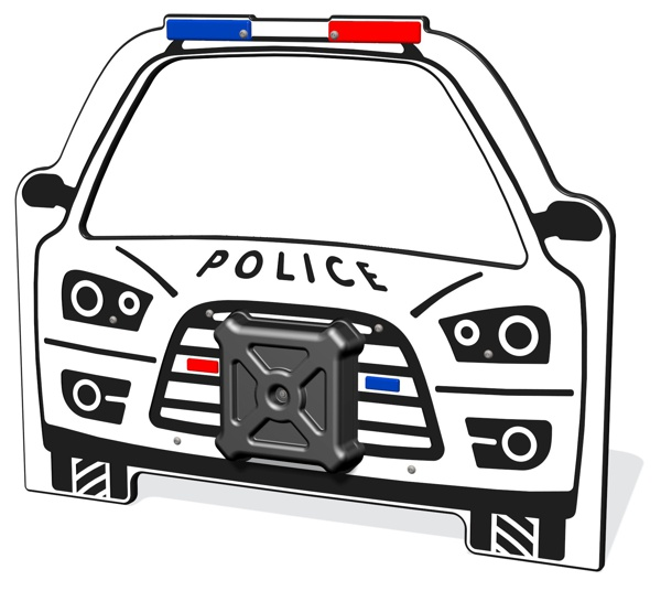 PlayTronic Police Car Sounds Panel