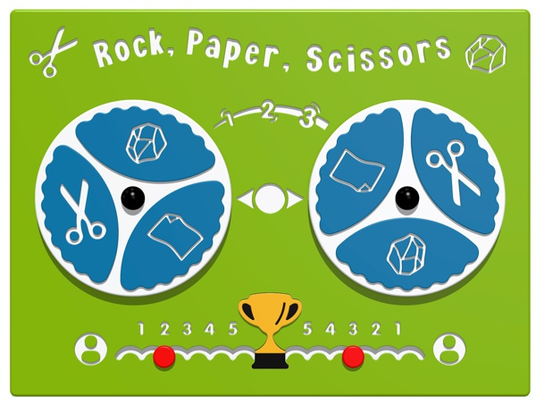 Rock Paper Scissors Play Panel