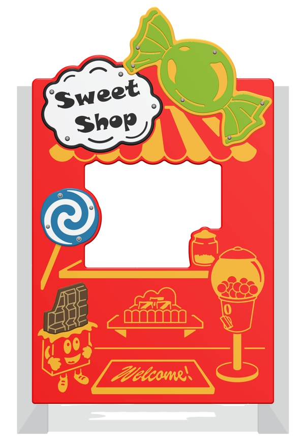 Sweet Shop Play Panel