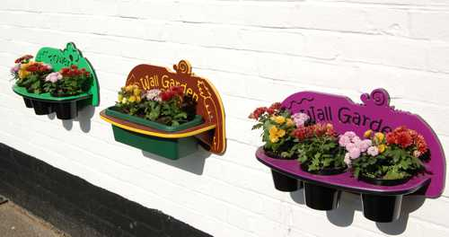 Wall Garden Tub Planter