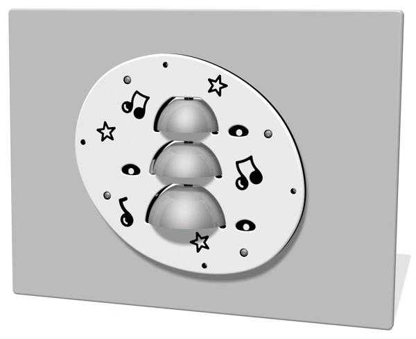 3 Bell Musical Panel Insert