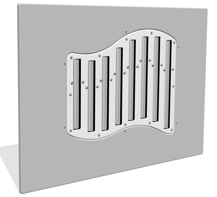 Diatonic Cam Chimes Musical Panel Insert