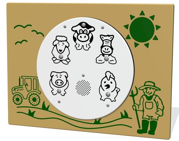 PlayTronic Farm Sounds Panel