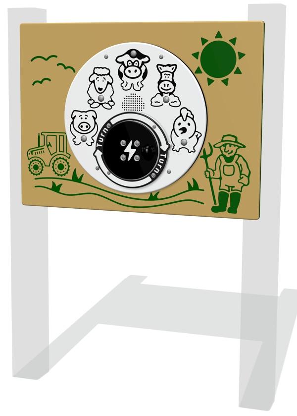 RotoGen Farm Sounds Panel