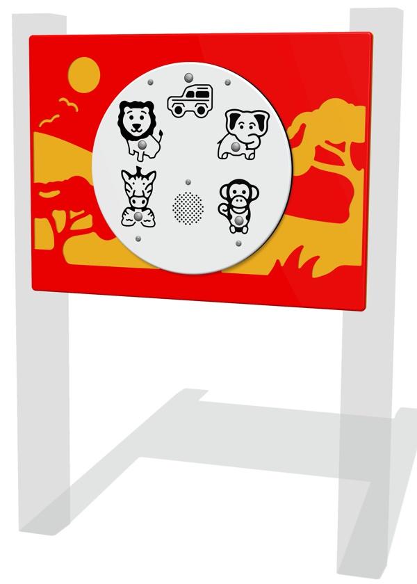PlayTronic Safari Sounds Panel