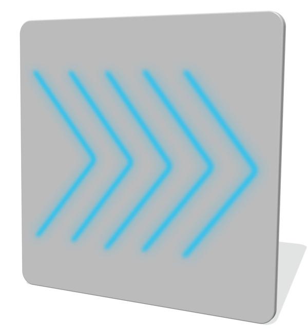 LumiDirection Double Sided LED Panel