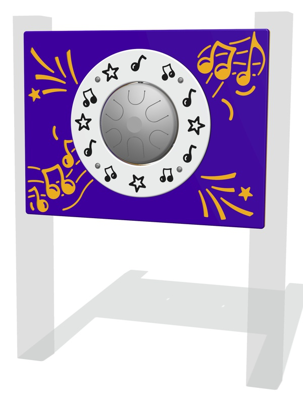 Tongue Drum Musical Play Panel