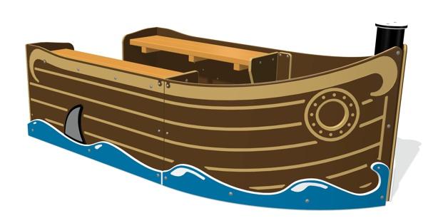 Mini Pirate Ship