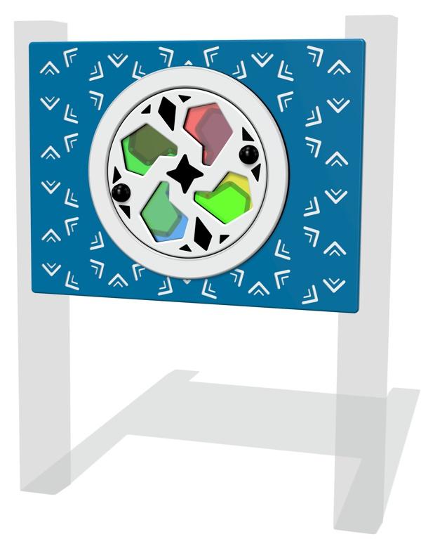 Colour Wheel Kaleidoscope Play Panel