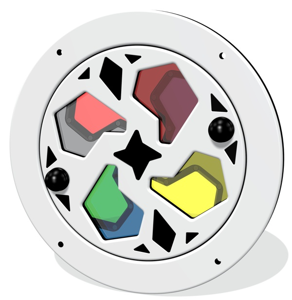 Colour Wheel Kaleidoscope Insert