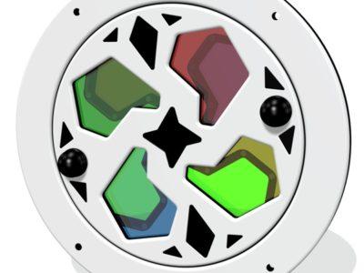Kaleidoscope panel insert