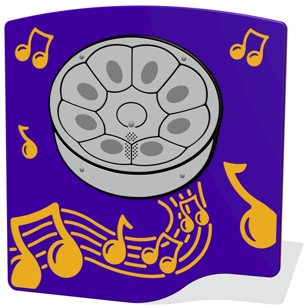 PlayTronic Steel Pan Musical Panel