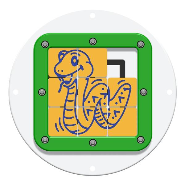 Mini Tile Slide Snake Insert