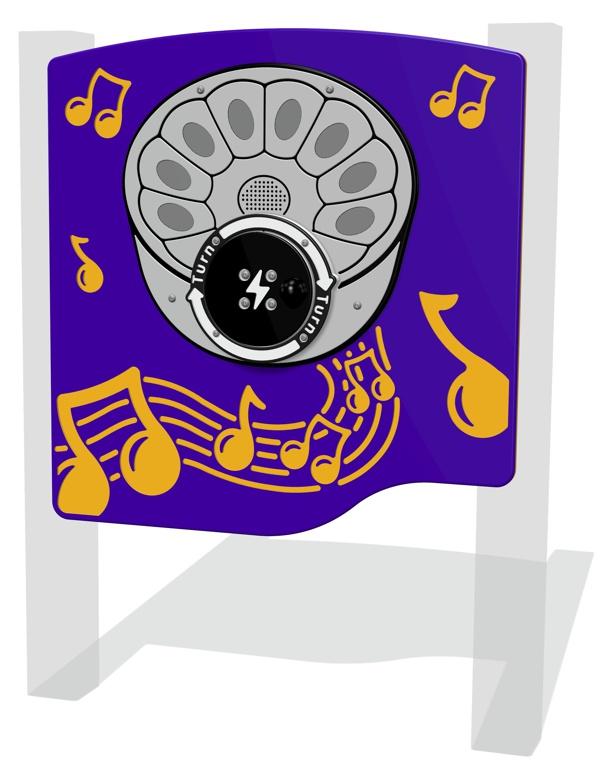 RotoGen Steel Pan Musical Panel
